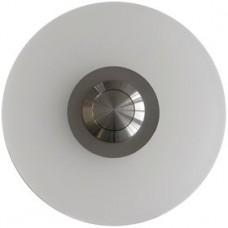 Botón timbre de cristal acrílico, redondo, empotrado